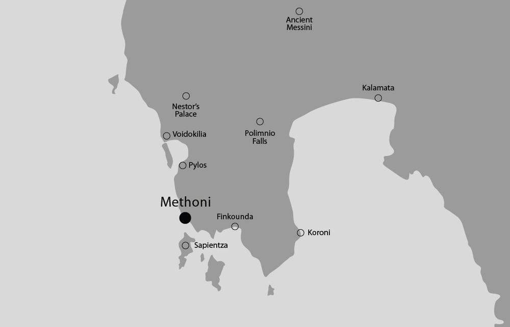 Methoni - Messenia map.jpg