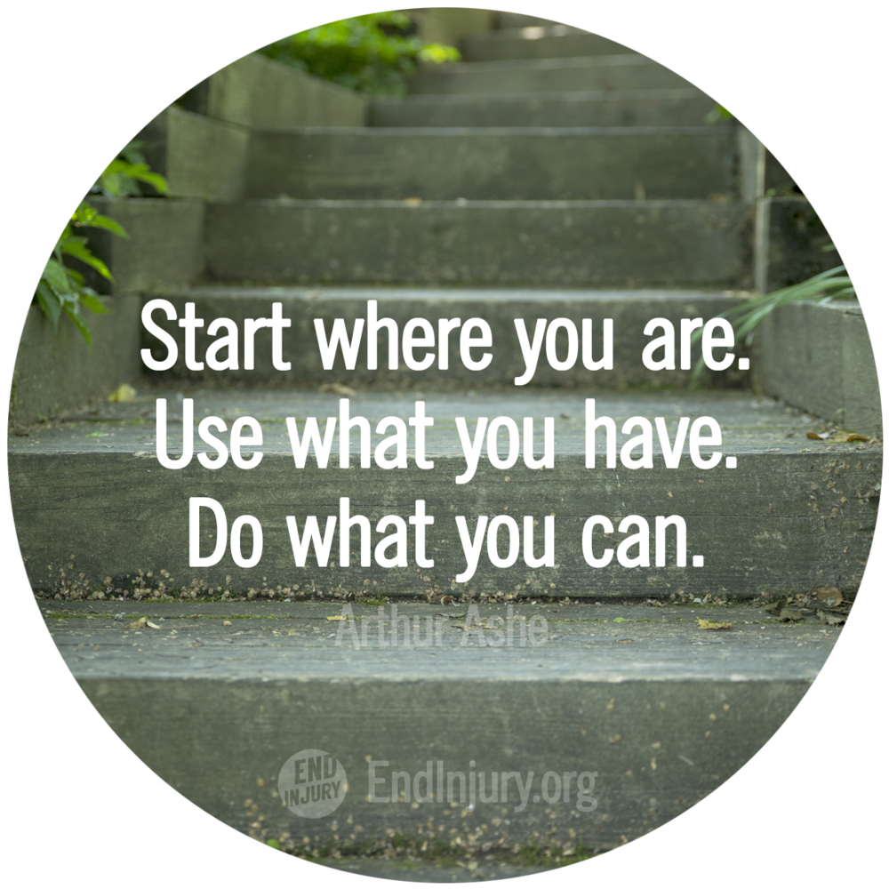 End Injuryblogstart Where You Are