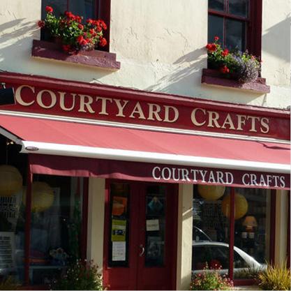 Courtyard Crafts Shop