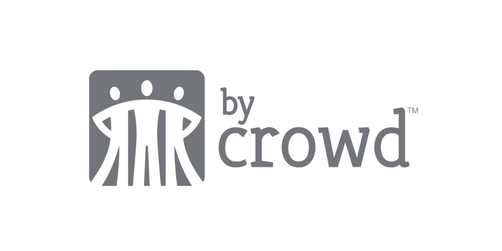 by Crowd Logotype