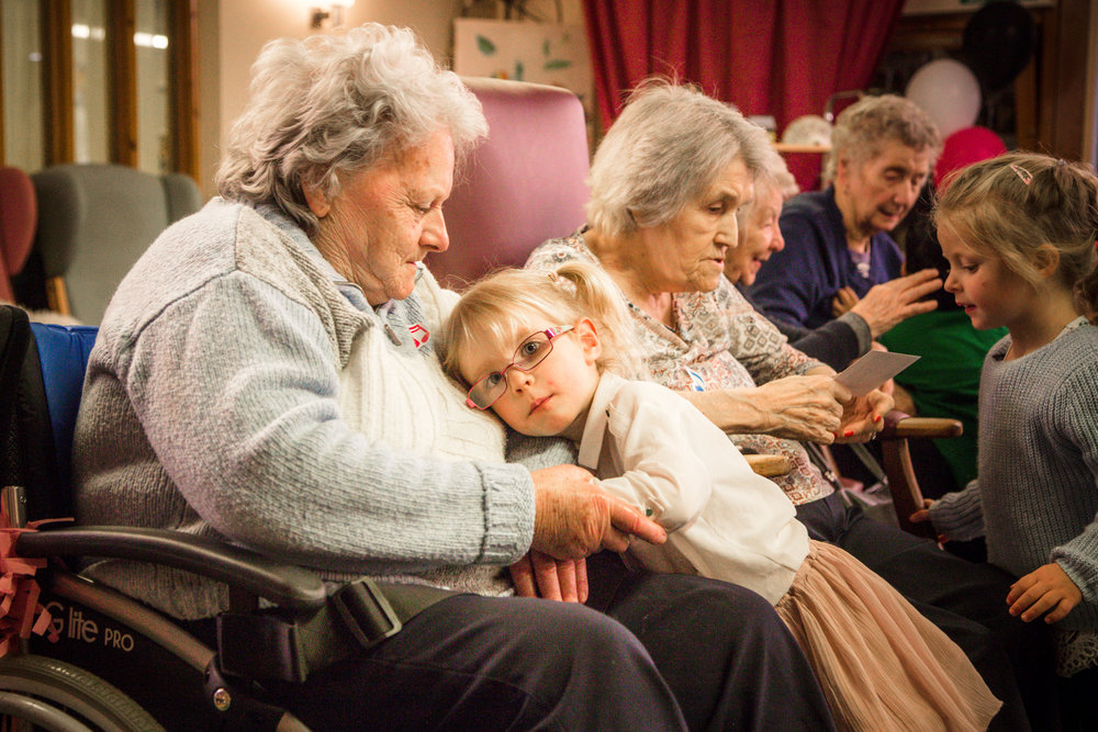 THE TODDLERS WHO TOOK ON DEMENTIA - BBC WALES