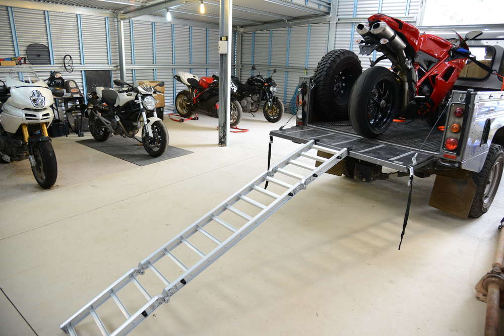 As a long, wide ramp, the ReadyRamp makes for safe and easy loading