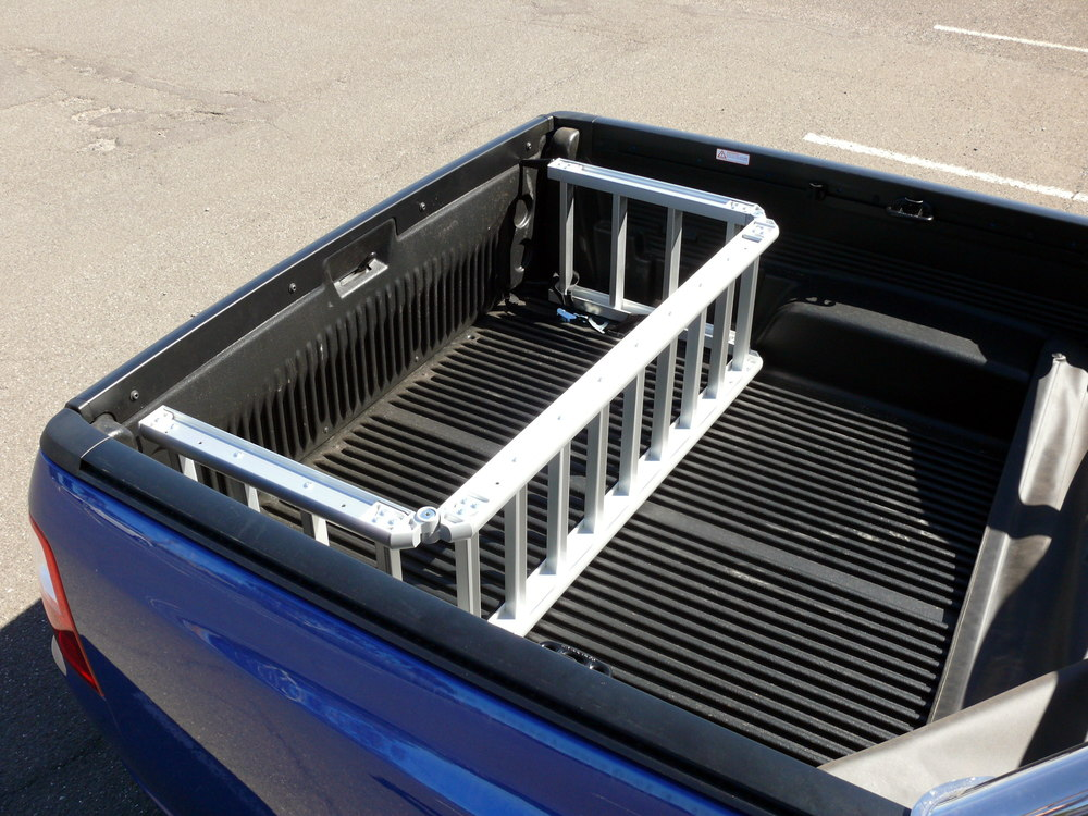 ReadyRamp tray divider in a Ford Falcon