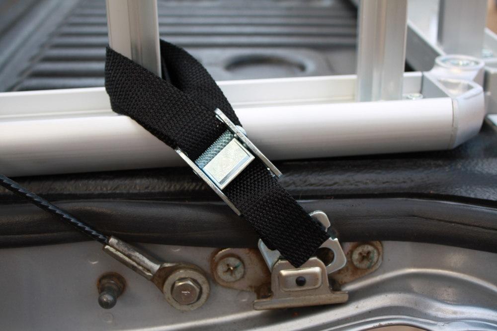 ReadyRamp attachment to Mitsubishi Triton