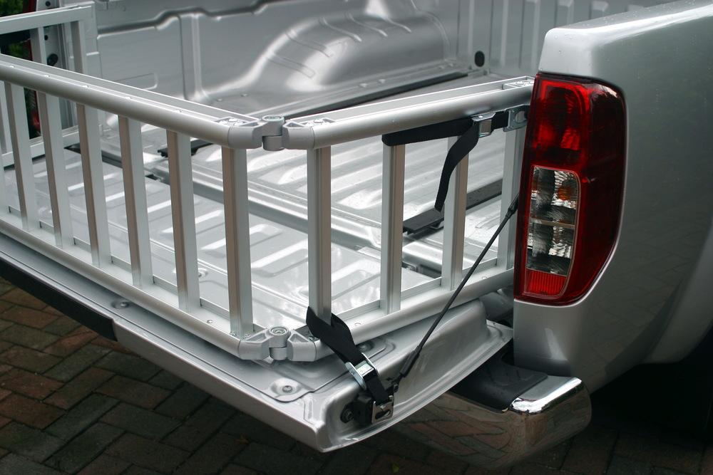ReadyRamp as Ute Tray Extender on Nissan Navara D40