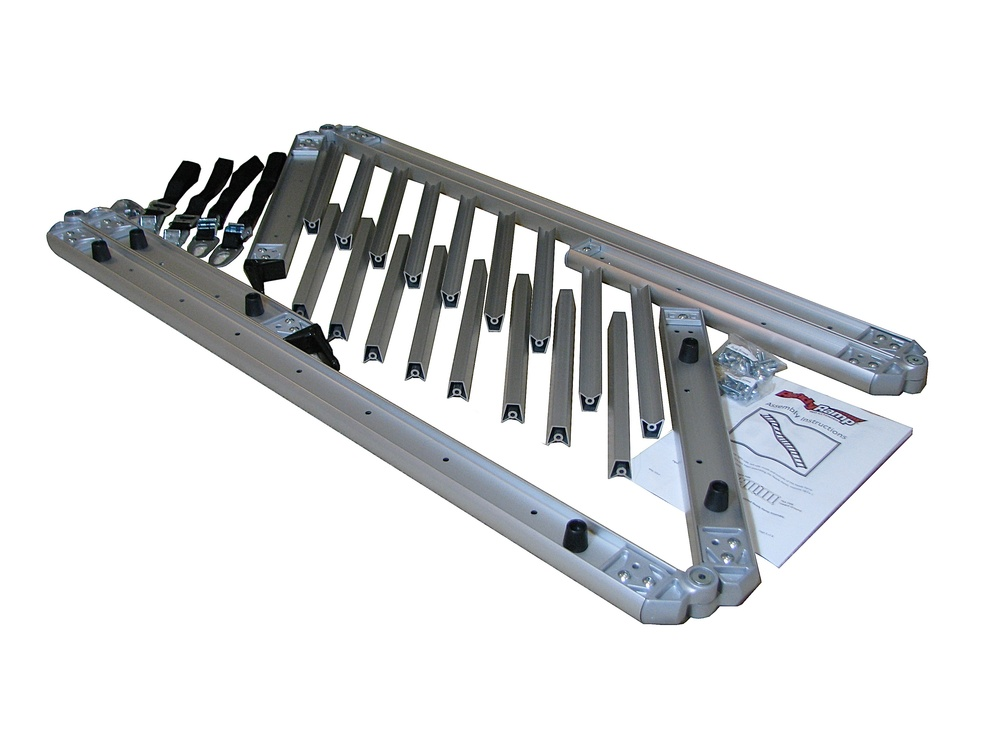 ReadyRamp comes as shown with only simple installation of the V rungs required