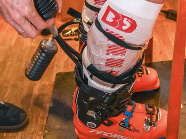 Testbericht:  Der Weg zum perfekten Skischuh