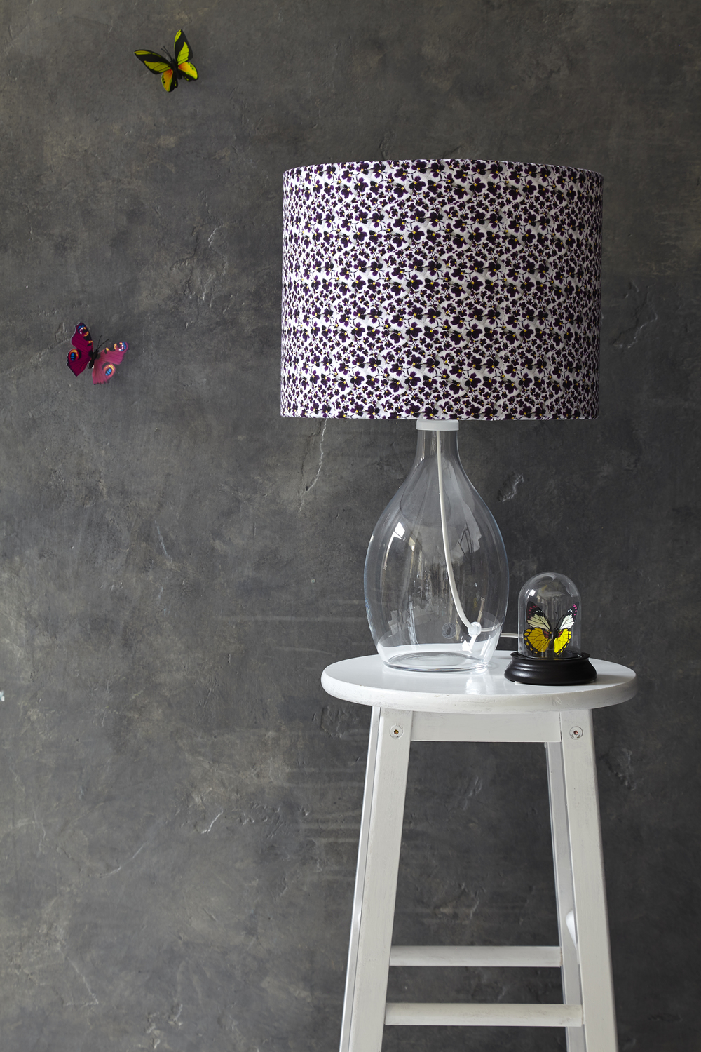 Pansy Dance Lampshade.....