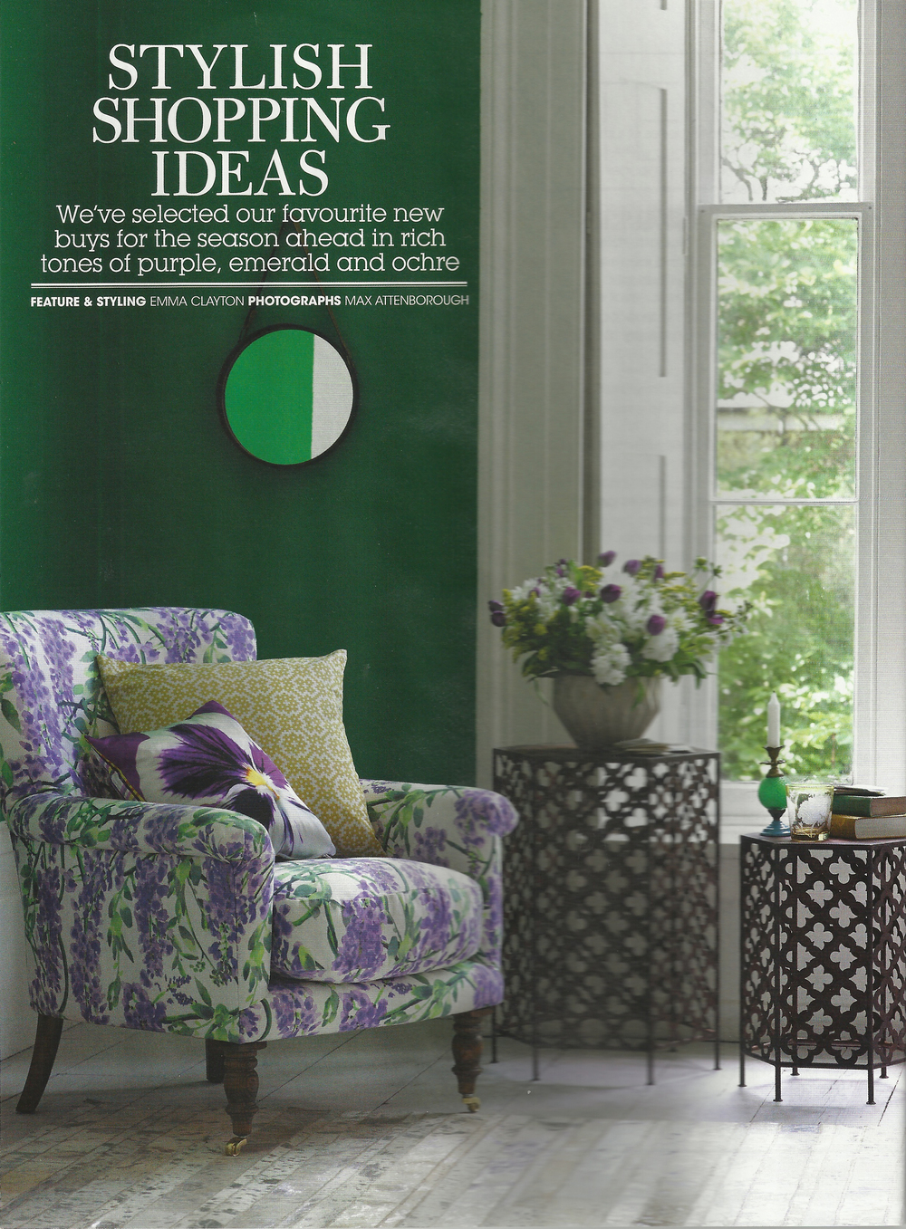 Lauraloves cushions GoodHomes Magazine