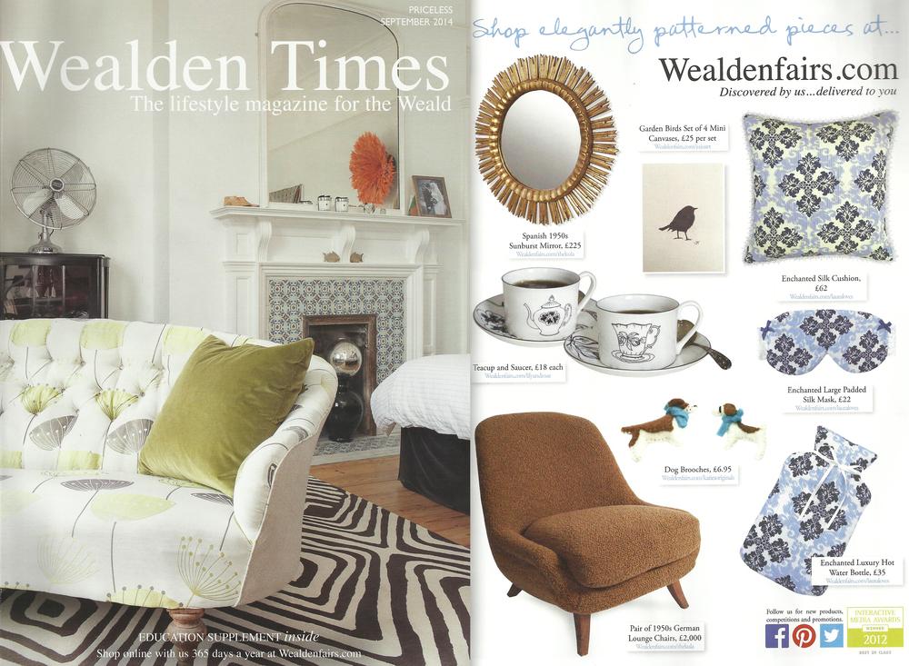 Lauraloves featured in Wealden Times