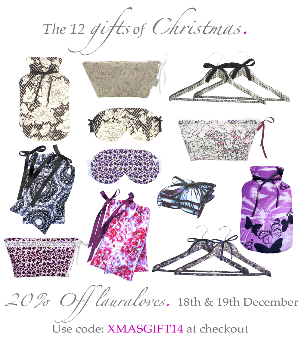lauraloves 12 gifts of christmas 20% off