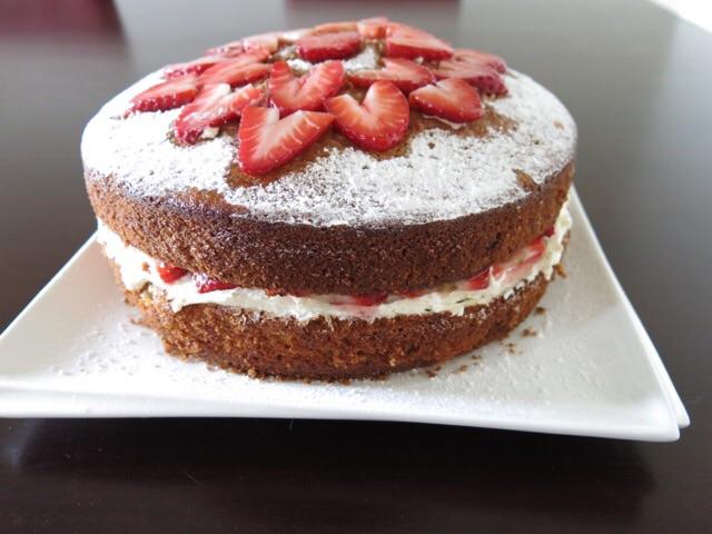 Lauraloves Strawberry Cake