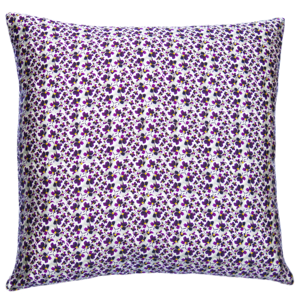 Lauraloves Pansy Dance Cushion