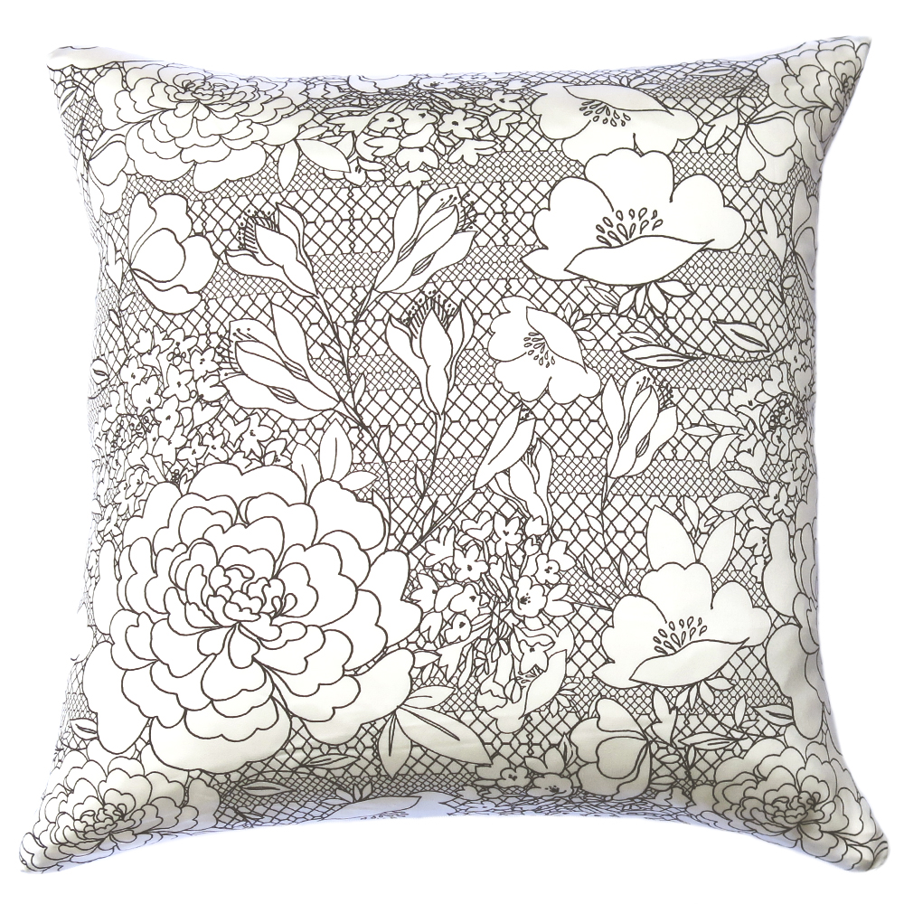 Lauraloves Freya Lace Cushion
