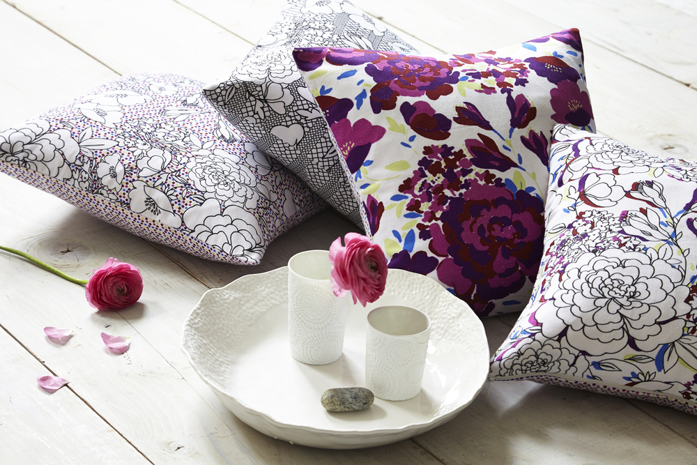 Lauraloves Freya Floral Cushions