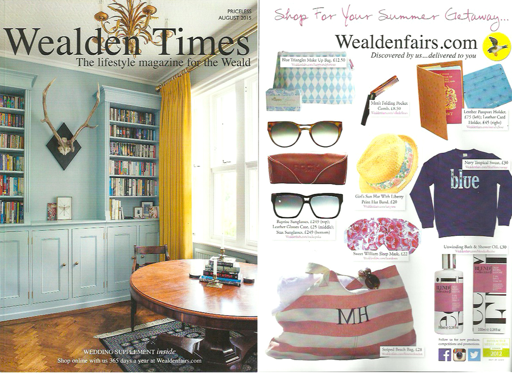 Wealden Times Shopping for Holidays - Lauraloves Sleep Mask