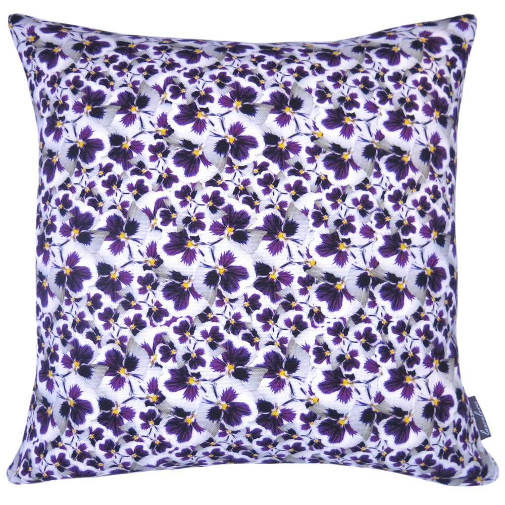 Pansy Dance Cushion
