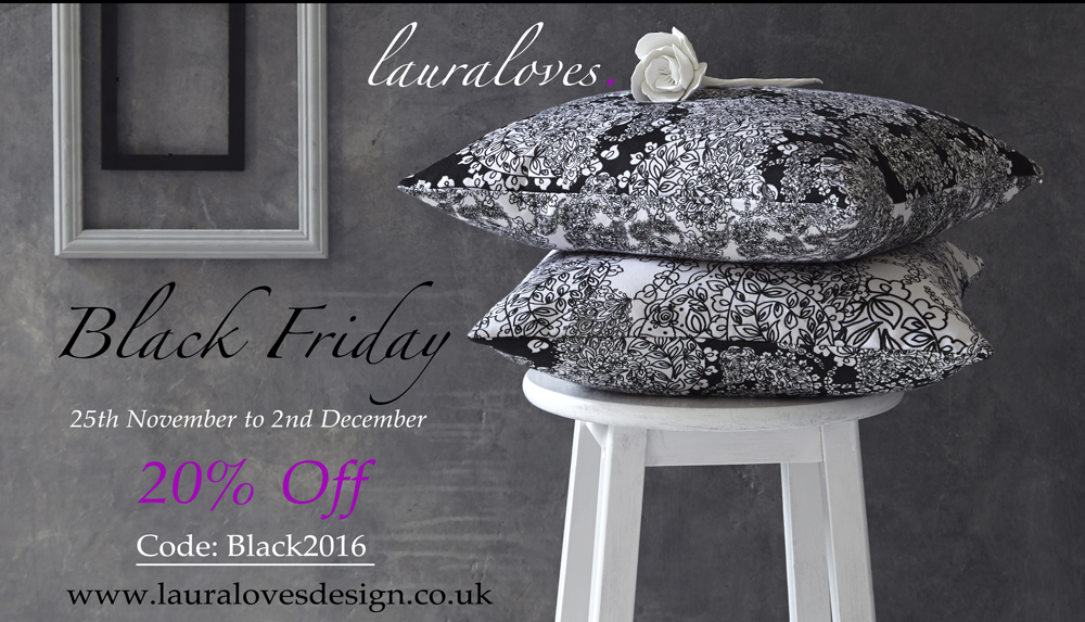 Black Friday 20% Off Lauraloves