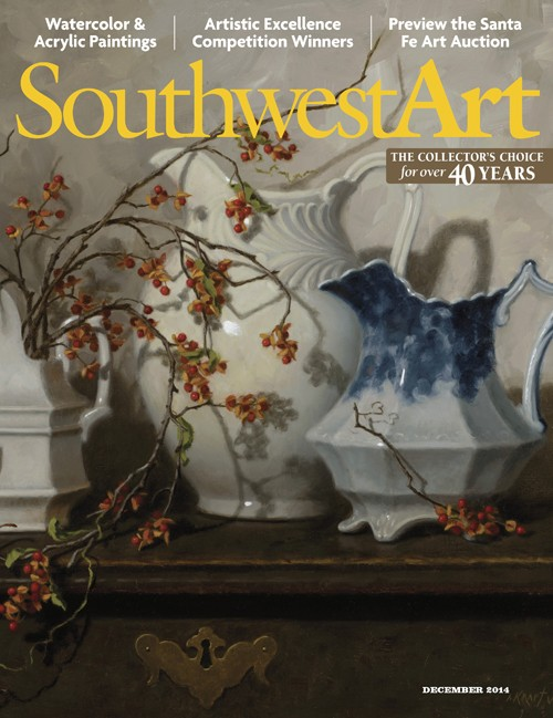 Southwest Art  Magazine Names Tina Garrett an Artist To Watch  —  Read all about it!