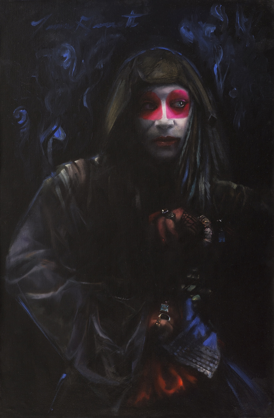 """Magique Noir"" 20x30 Oil on Linen Panel — SOLD"