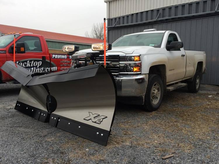 Plow install boondocker equipment inc to further personalize this job the owner added a rubber deflector timbren bag suspension enhancers orange plow markers and an overhead ecco mini light mozeypictures Choice Image