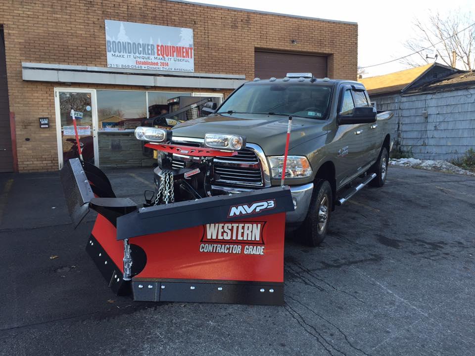 Plow Install Boondocker Equipment Inc