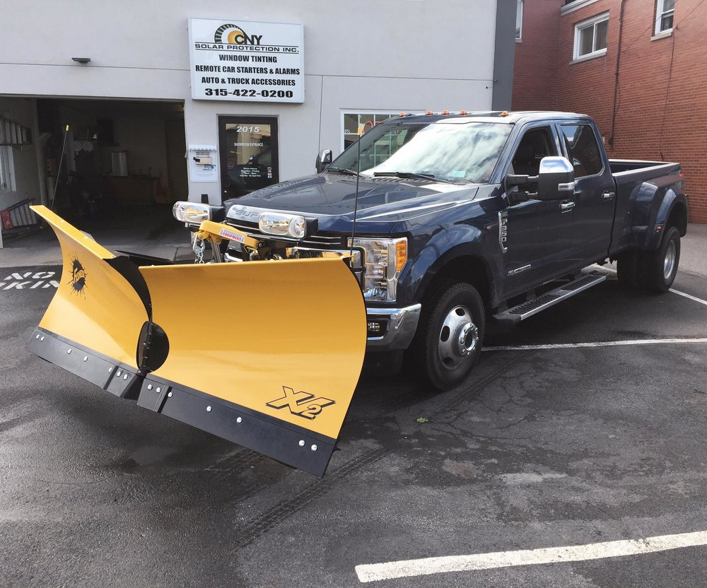 New 9 1 2 Fisher Xv2 Mild Steel Install On 2017 Ford Superduty
