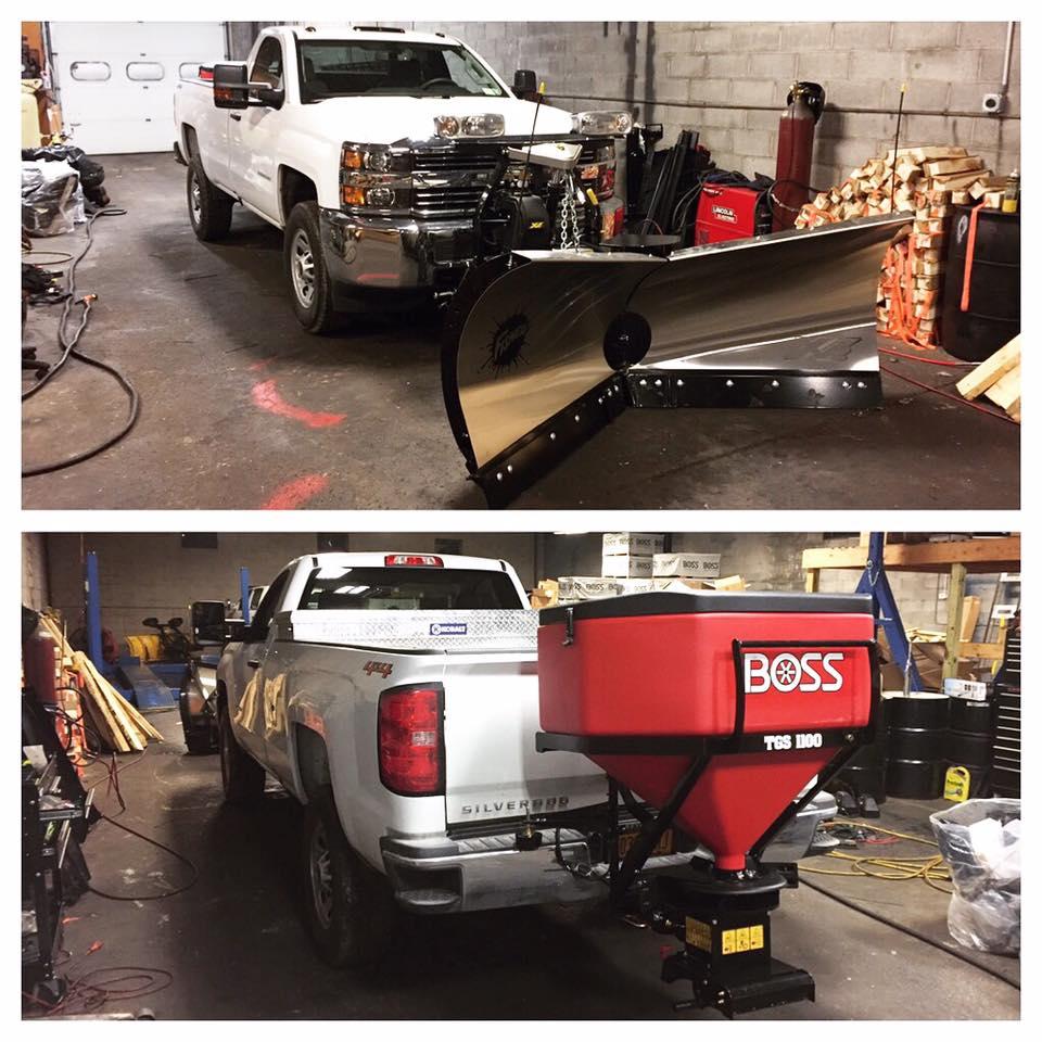 boss plow hook up