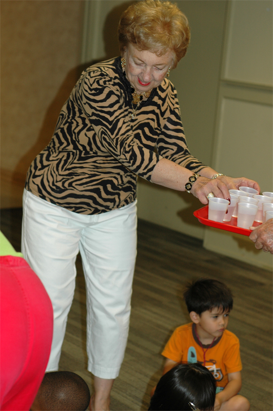 Young at Heart serves VBS refreshments each year.