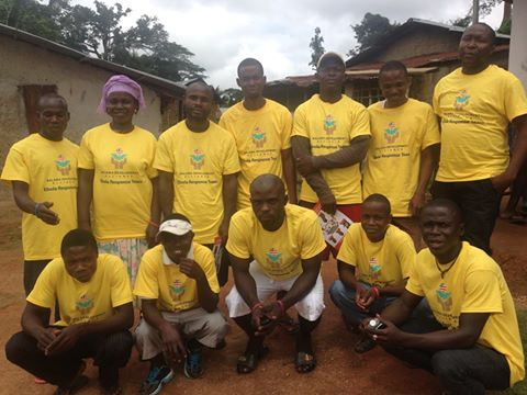 Trained team to educate about Ebola