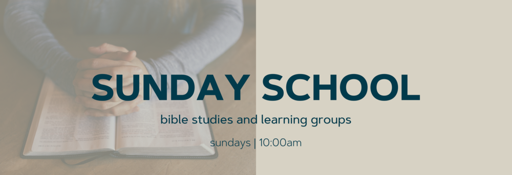 "We call these ""Learning Groups,"" a time when well over a hundred folks from every generation gather to study the Bible, books, and grow together spiritually. These groups change lives! 10:00am all over the campus."