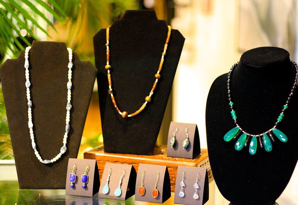 Kathleen Langone necklaces and earrings.JPG