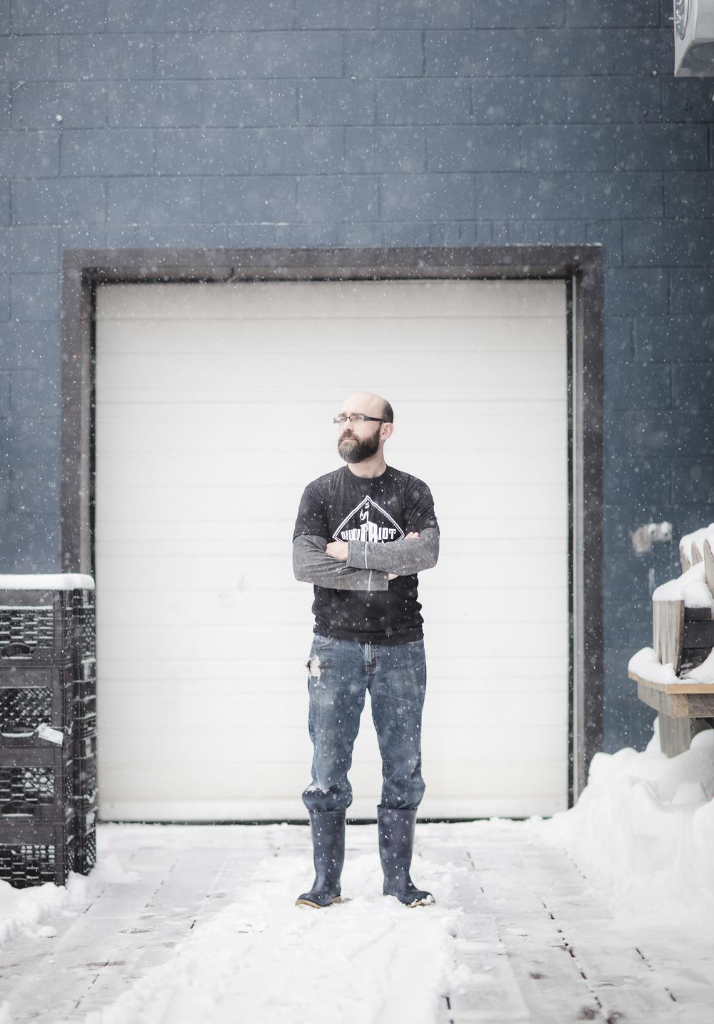"""Ian Michaud - """"Brewers in Maine"""" - Maine magazine"""