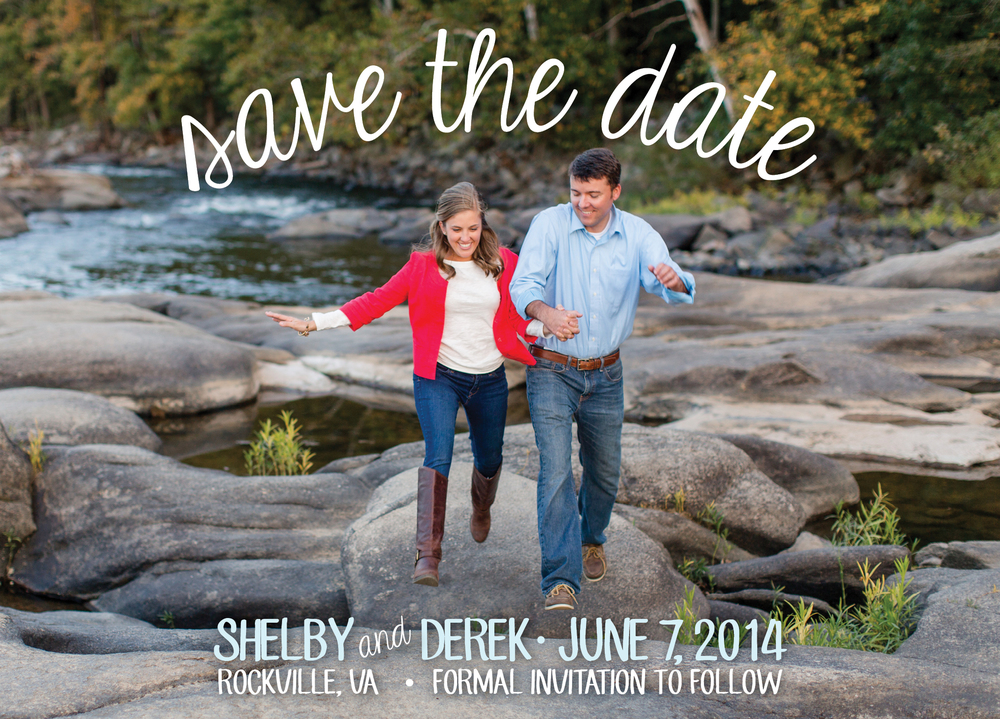 Shelby + Derek // Save the Date