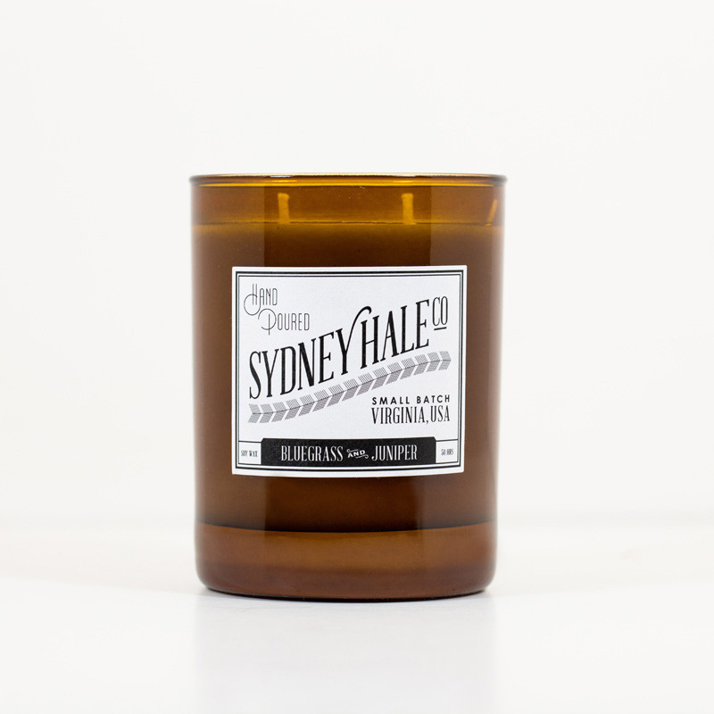 Bluegrass and Juniper candle- $30 This candle made by Sydney Hale Co. smells AWESOME (I bought one for a host/hostess gift and couldn't stop sniffing it!), they are handmade in small batches by a family here in VA, and 10% of every purchase to dog rescue. Win, win, and win.