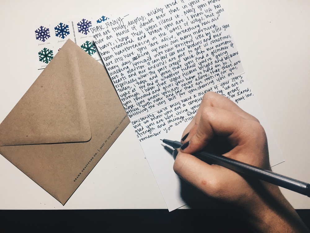 12 days of love letter writing rachel a dawson i wrote jenny a letter on pretty paper and sealed up with washi tape and all the love in my heart but im sharing it here with you today too spiritdancerdesigns Image collections
