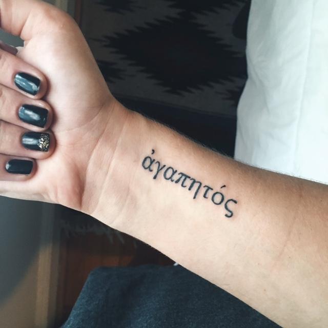 3 tattoos!