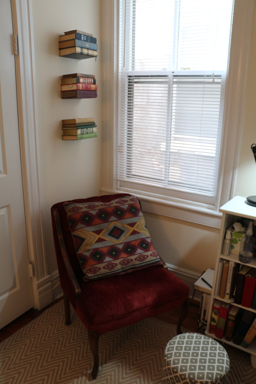 My cozy little reading corner