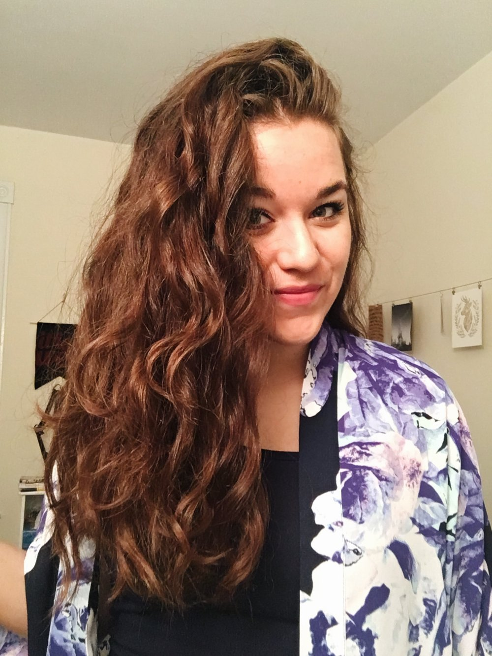 This crazy head of hair is being tamed TOMORROW and I am very ready for a drastically different look!