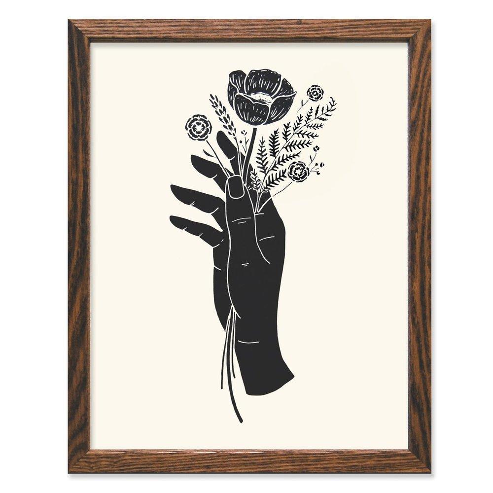Botanical Hand