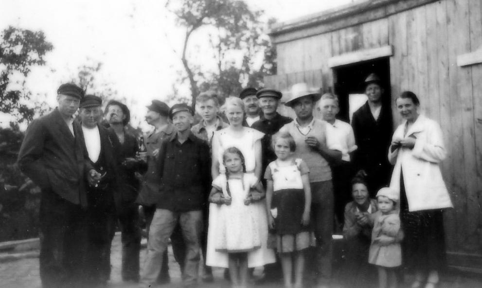 Die erste Mannschaft 1930er Jahre, Ehnernstraße Oldenburg.