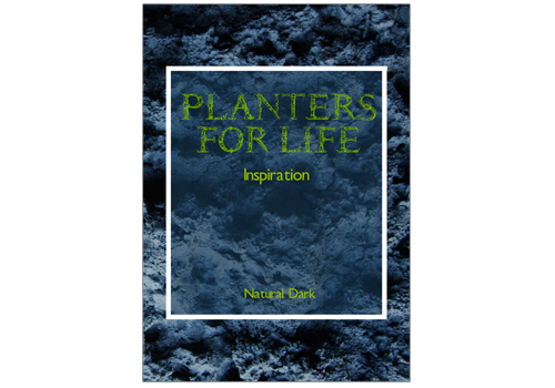 Planters for Life – natural dark