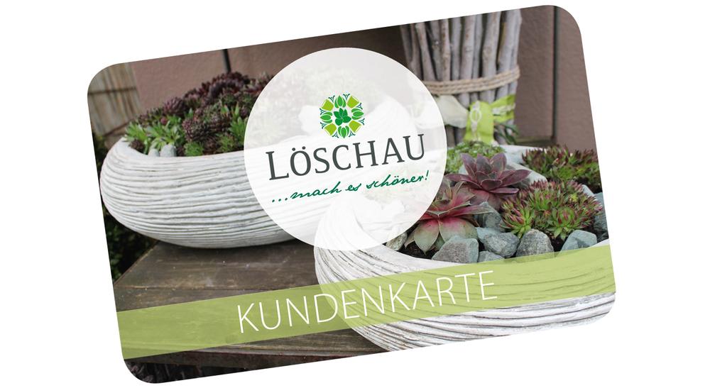 Löschau-Kundenkarte