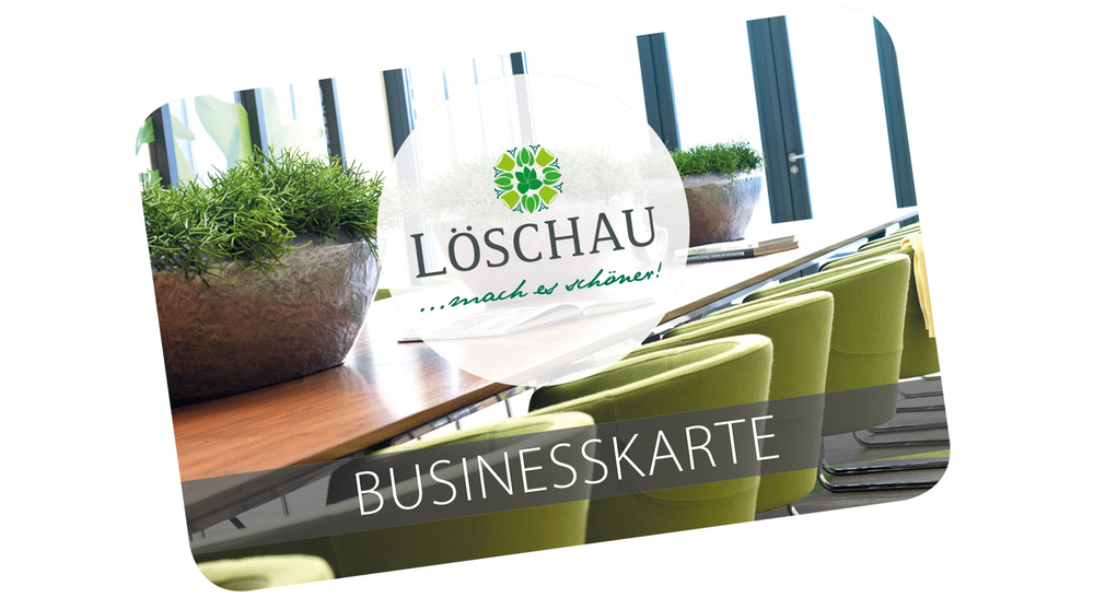 Löschau-Businesskarte