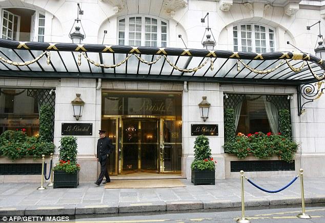 Le Bristol Hotel,  Paris