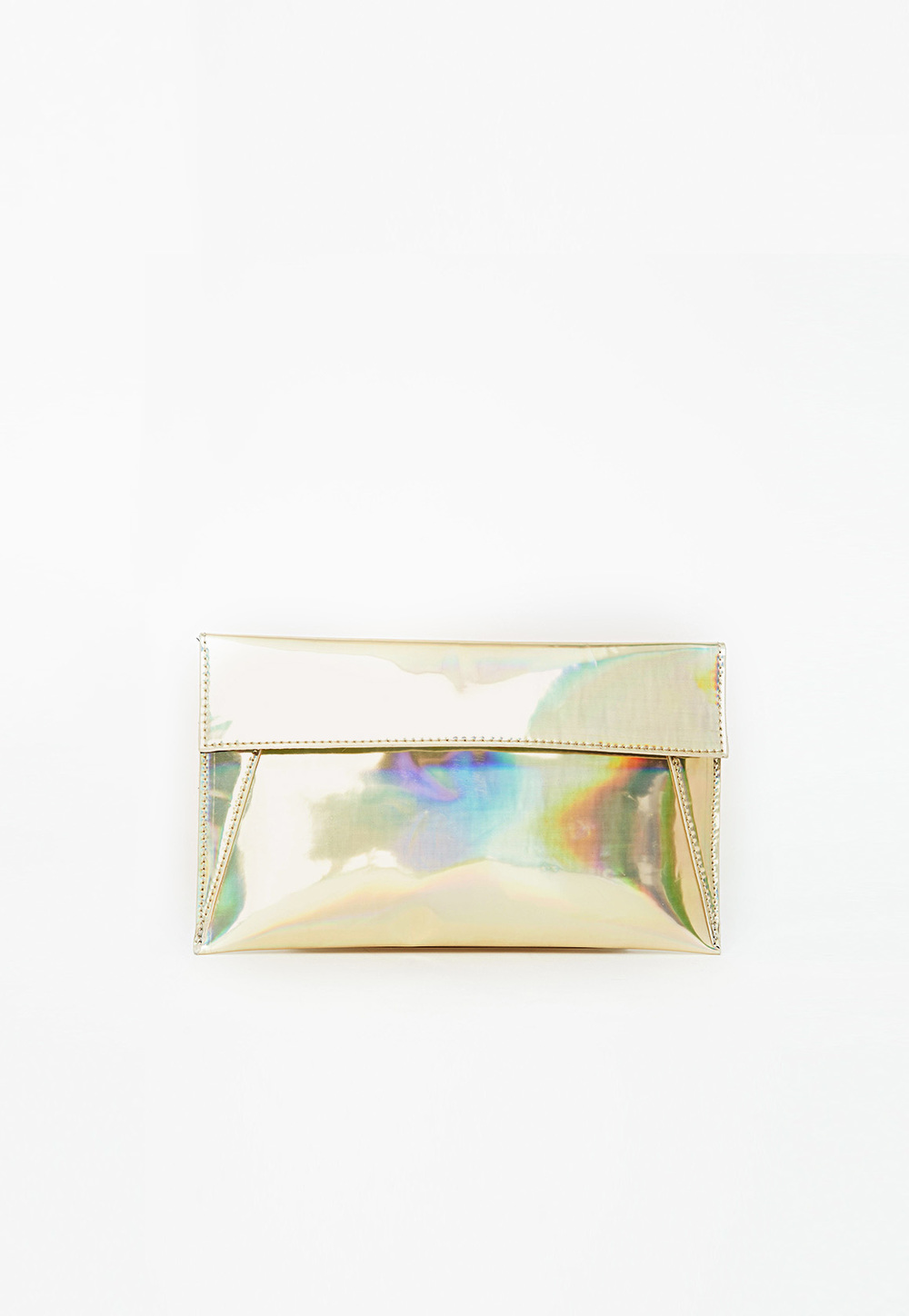 MISSGUIDED HOLOGRAPHIC CLUTCH