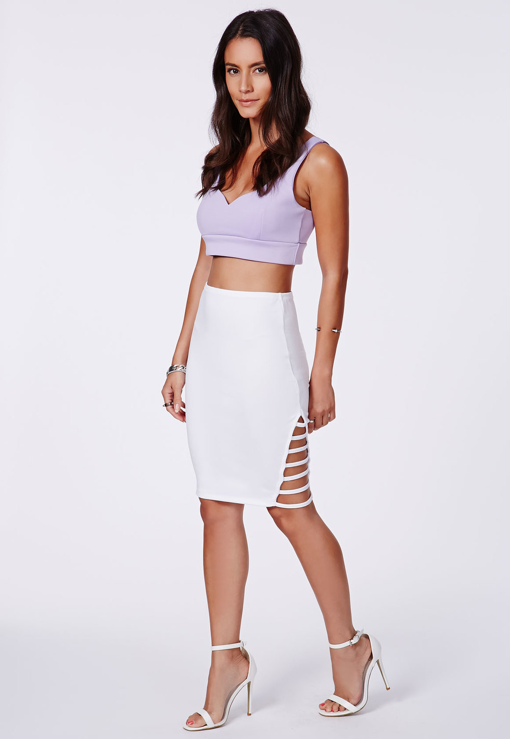 MISSGUIDED MIDI SKIRT