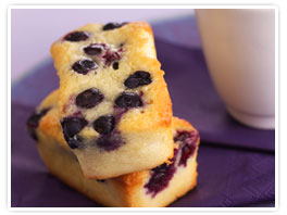 Blueberry Black Currant Tea Cake