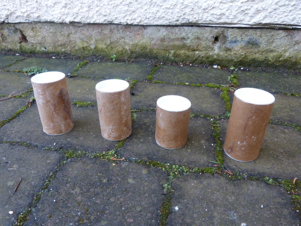 I exposed four tubes to the elements for three weeks. Each postal tube was successful in protecting the cardboard from being weakened from rain and moisture.