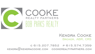 Cooke Realty Partners Business Card Front